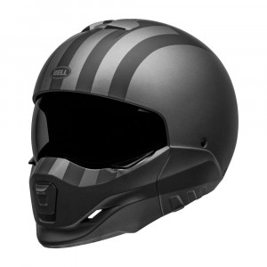 Bell Broozer Helmet - Free Ride Matt Grey / Black