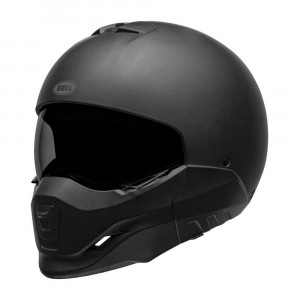 Bell Broozer Helmet - Solid Matt Black