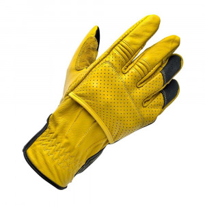 Biltwell Borrego Gloves - Gold / Black