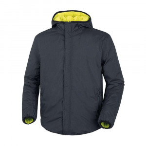 Tucano Urbano Double Way Reversible Jacket - Dark Blue / Lime
