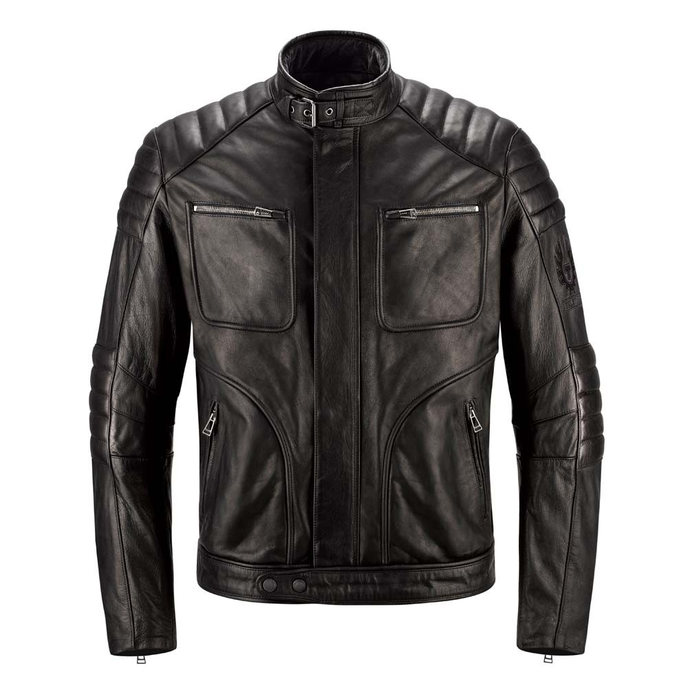 Belstaff Raleigh Leather Jacket - Black