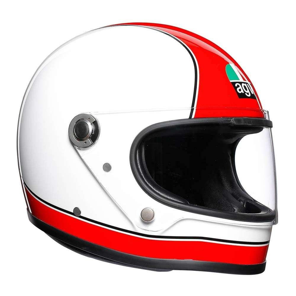 AGV X3000 Helmet - Super AGV Red / White