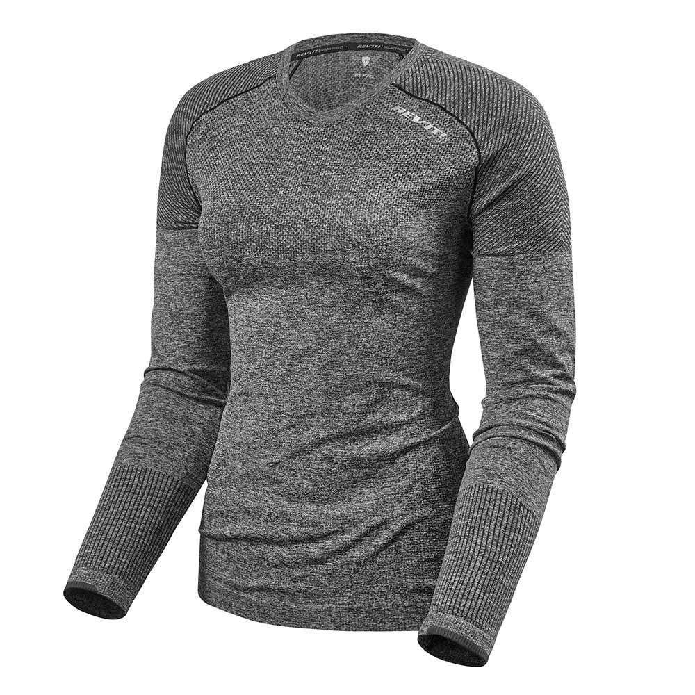 REV'IT Airborne LS Ladies Base Layer Shirt - Dark Grey