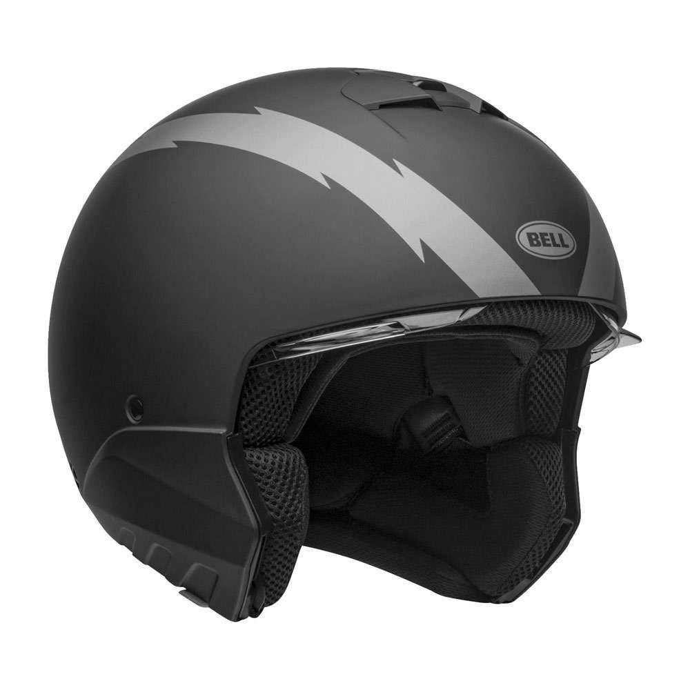 Bell Broozer Helmet - Arc Matt Black / Grey