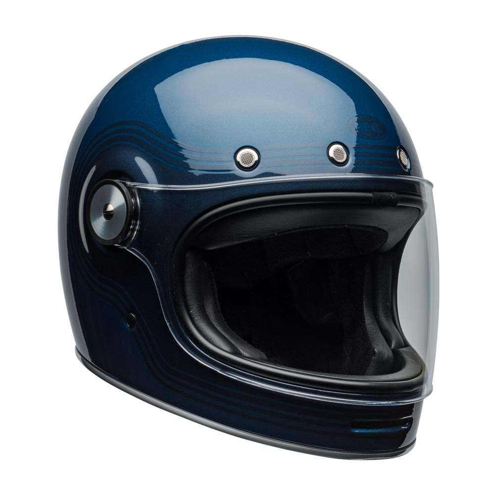 Bell Bullitt Deluxe Helmet - Flow Gloss Light Blue / Dark Blue
