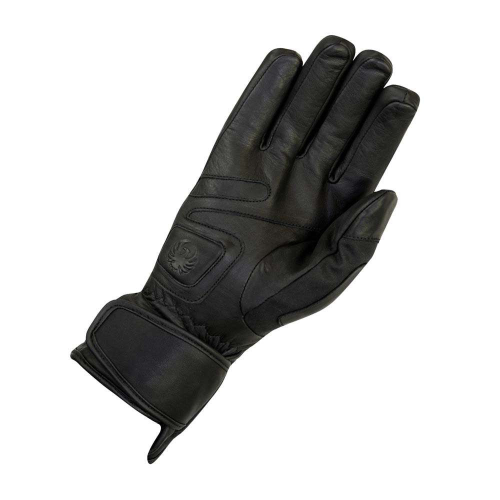 Merlin Darwin Outlast Leather / Wax Cotton Gloves - Black