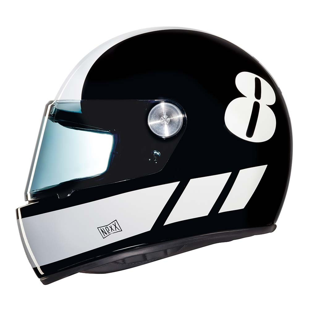 Nexx XG100R Billy B Helmet - Black / White