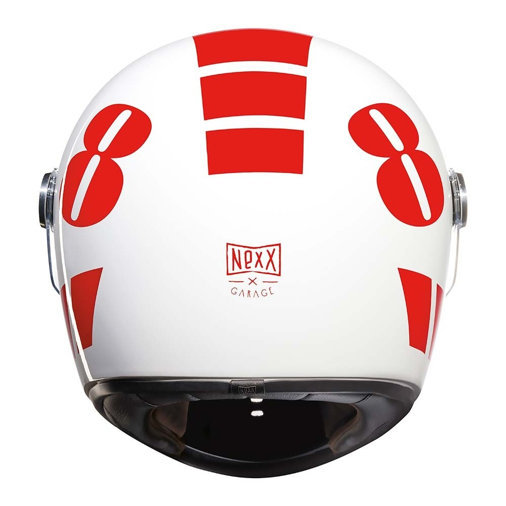 Nexx XG100R Billy B Helmet - Red / White