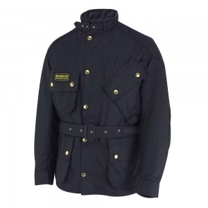 Barbour International Bike Jacket - Navy
