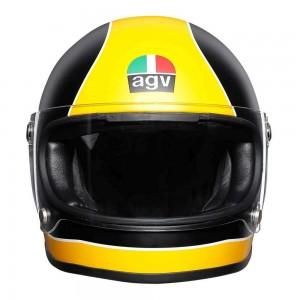 AGV X3000 Helmet - Super AGV Black / Yellow
