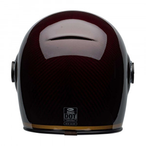 Bell Bullitt Carbon Helmet - Transcend Gloss Candy Red / Gold