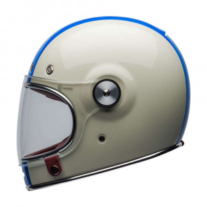 Bell Bullitt Deluxe Helmet - Command White / Red / Blue
