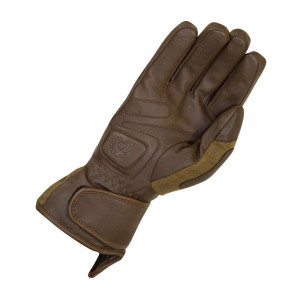 Merlin Darwin Outlast Leather / Wax Cotton Gloves - Brown / Olive
