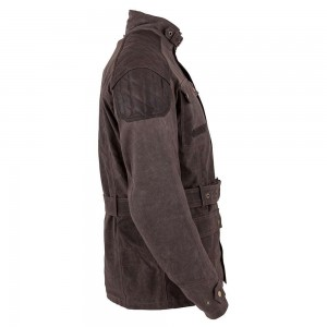 Spada Staffy Wax Jacket - Brown