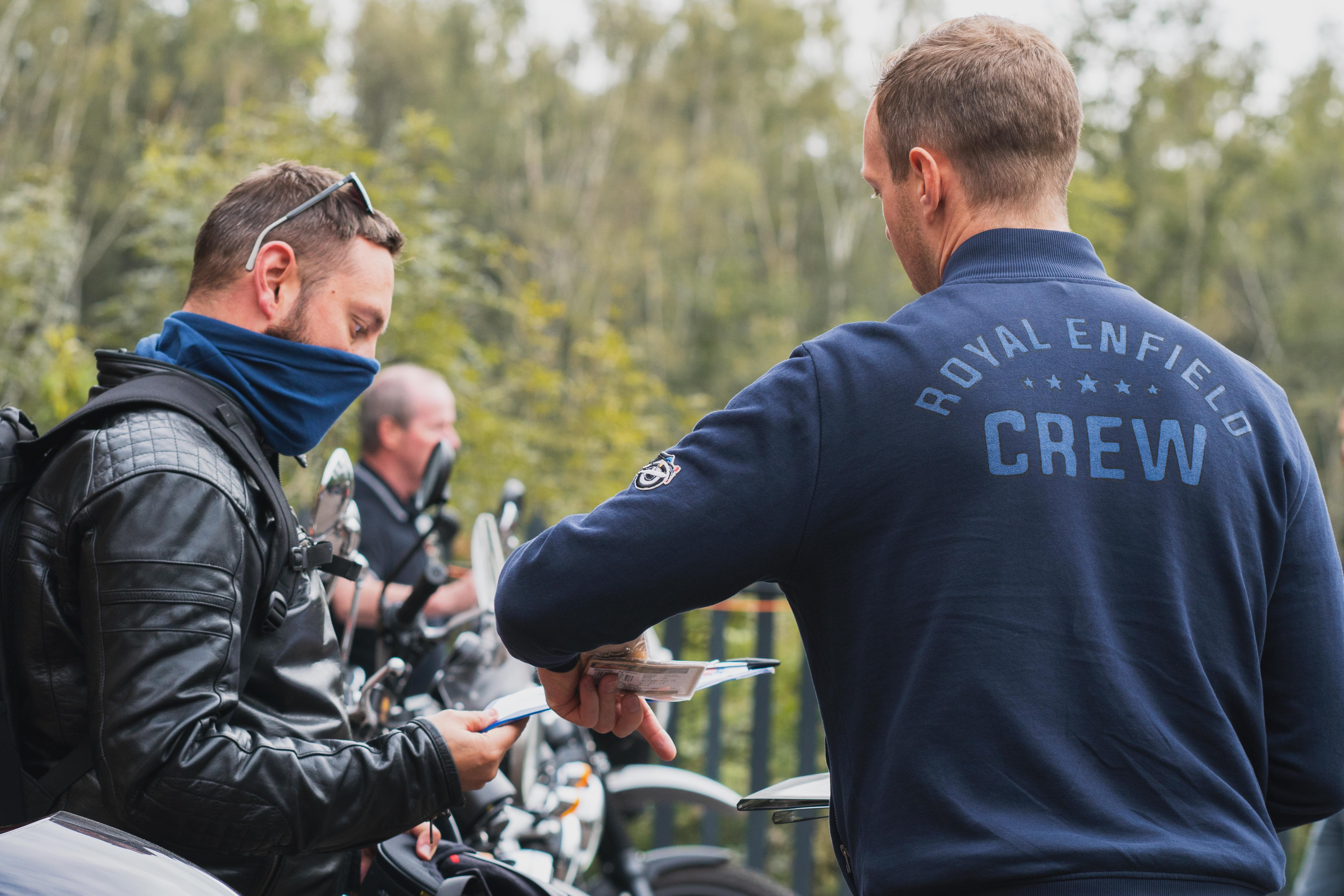 royal enfield baffle culture test ride event
