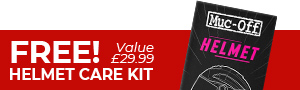 Free Helmet Care Kit Banner
