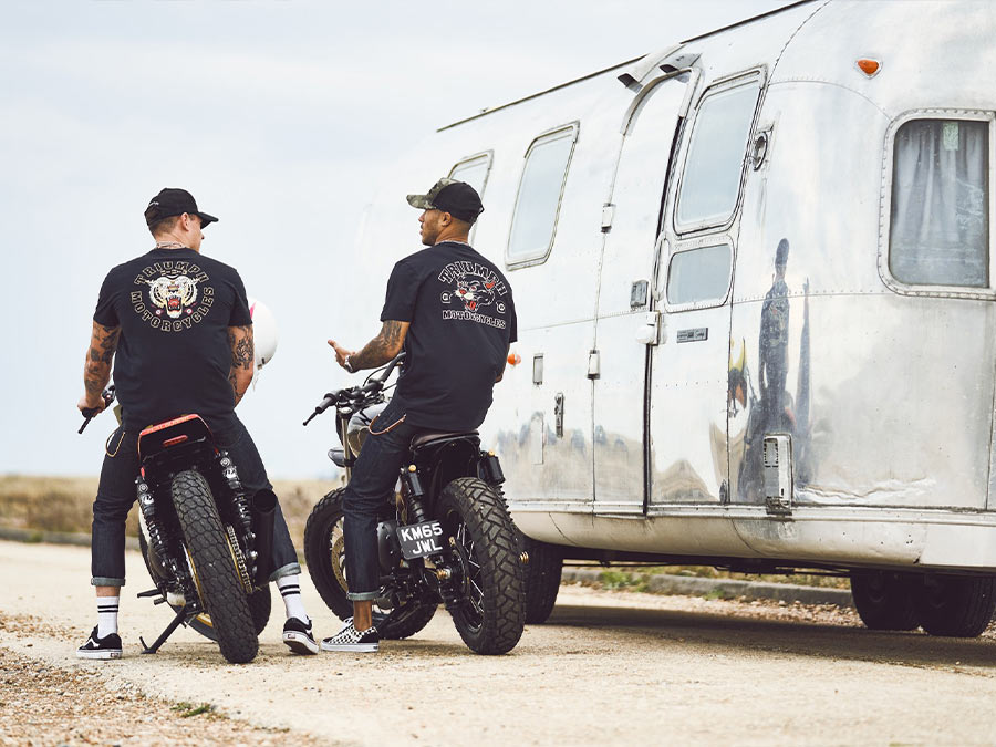 Triumph Motorcycle Lifestyle Clothing