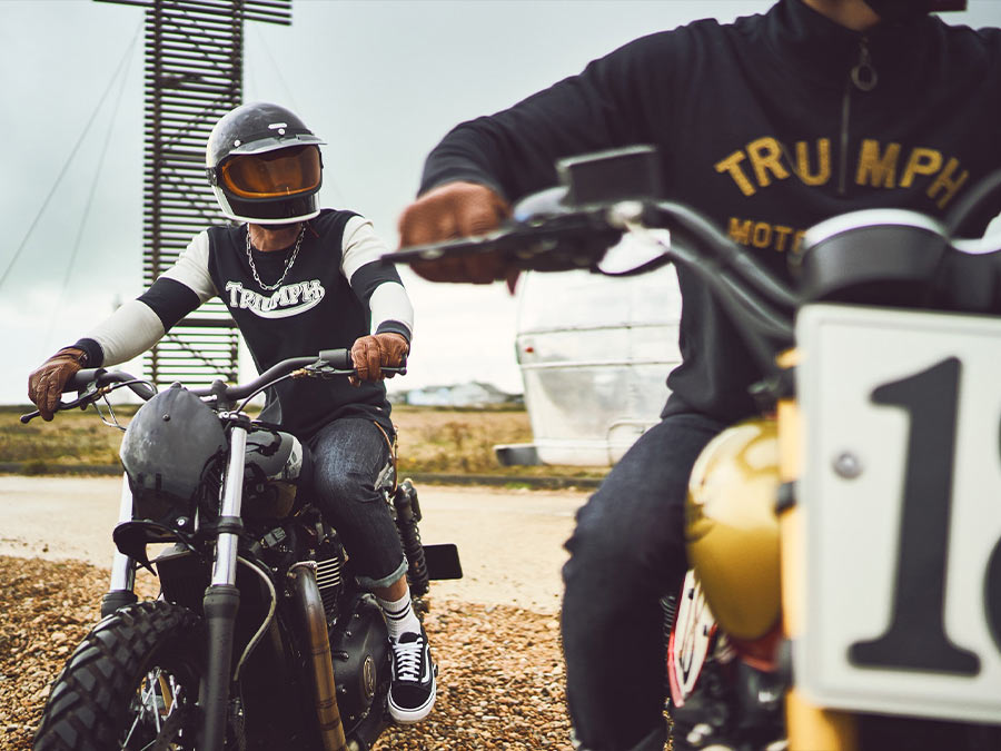 Triumph motorcycles lifestyle clothing collection