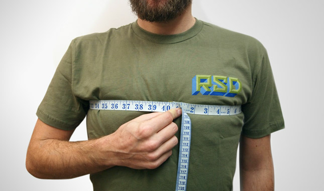 How To Measure T Shirt Image